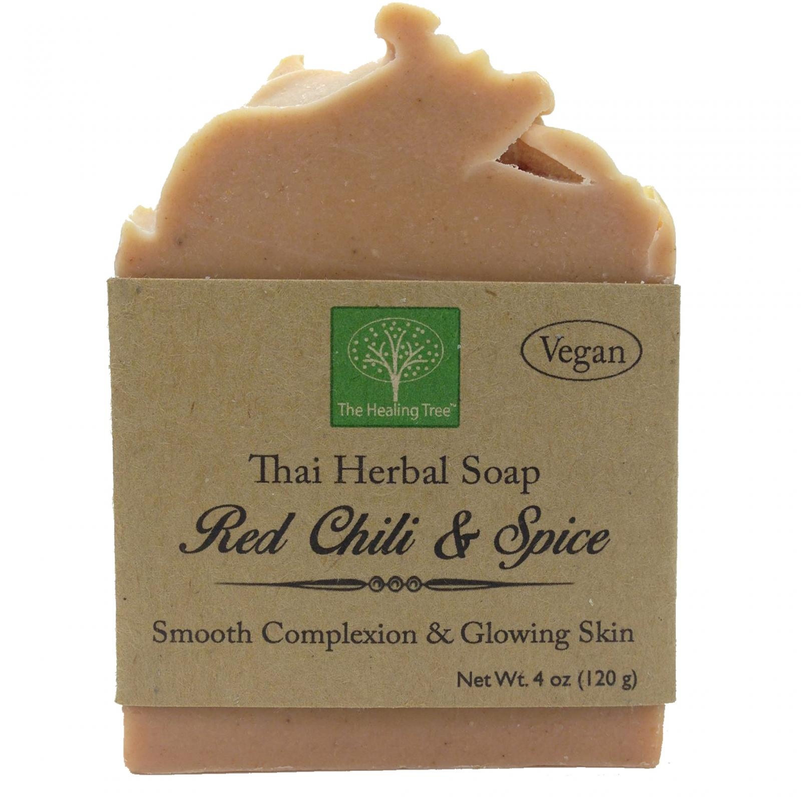Red Chili & Spice Handmade Soap for Smooth Complexion & Glowing Skin