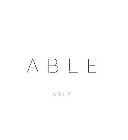 ABLE Cosmetics's logo