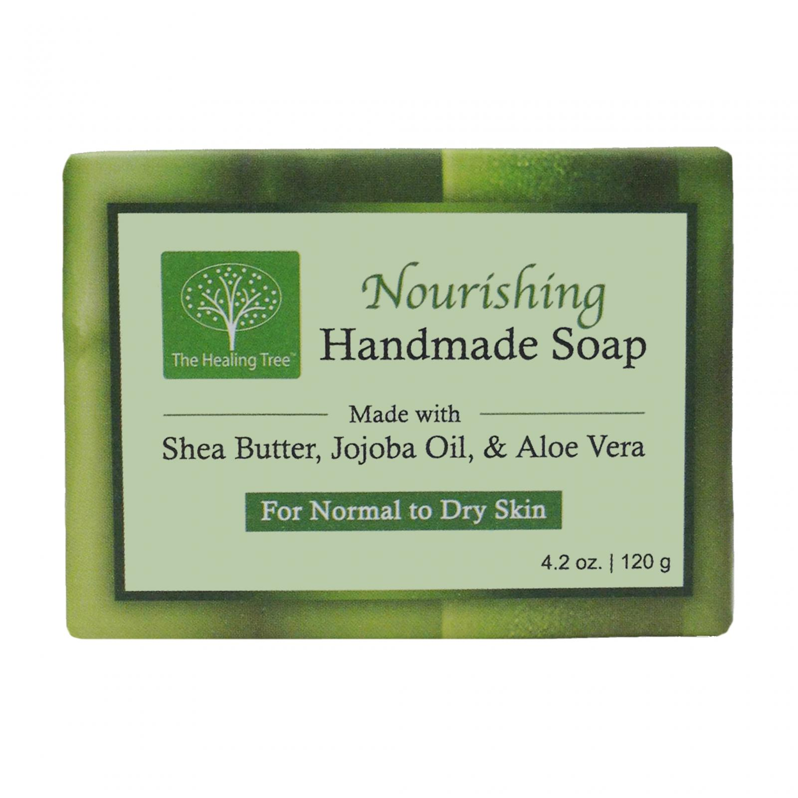 The Healing Tree Nourishing Handmade Soap helps Hydrate & Moisturize Your Skin