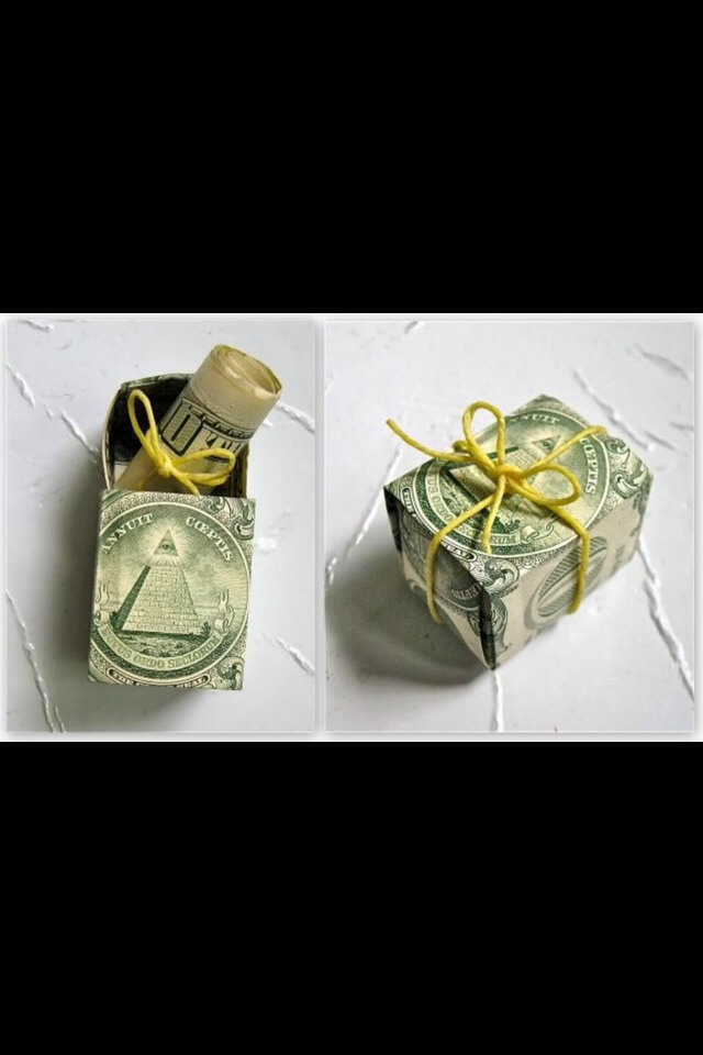 MONEY inside MONEY!! Who can ask for more?!?!?