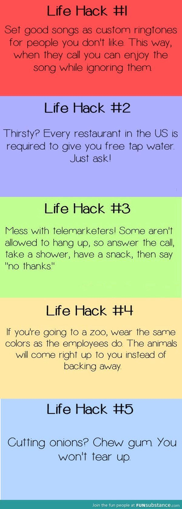 I love number 4, totally wanna do that! 😊👍