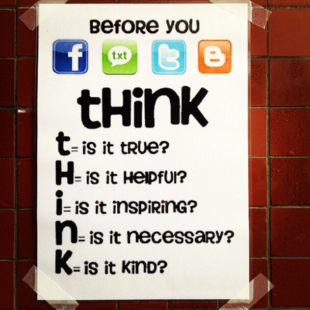 This visual is also a good way to protect your child from cyber bullying.