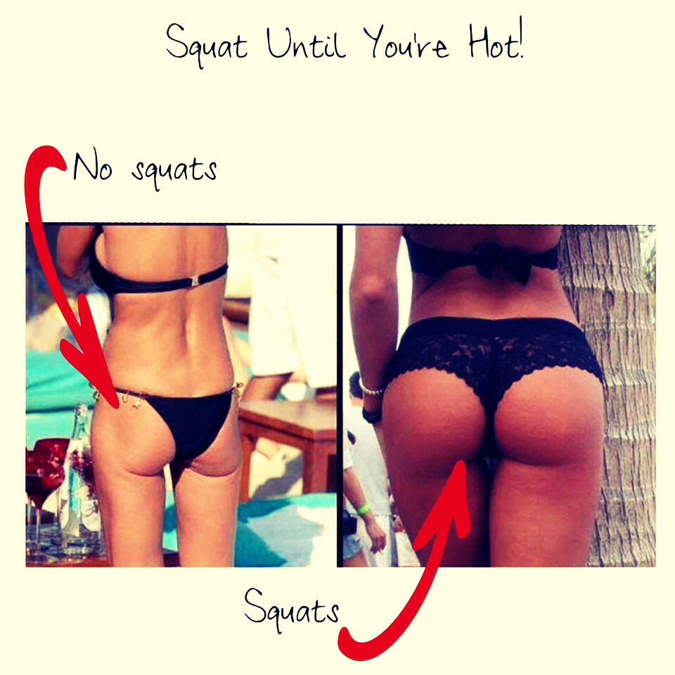 Squat squat squat!!!! Makes all the difference