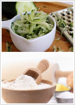 INSTRUCTIONS | Grind 1/3 cucumber + add 1 tsp of baking soda. Gently apply the mixture on your face with circular motions. You can leave some on your face for 5min, for even greater effect. Rinse with cold water. As a finish you can put two slices of cucumber on your eyes for 5 more mins - Voilà!