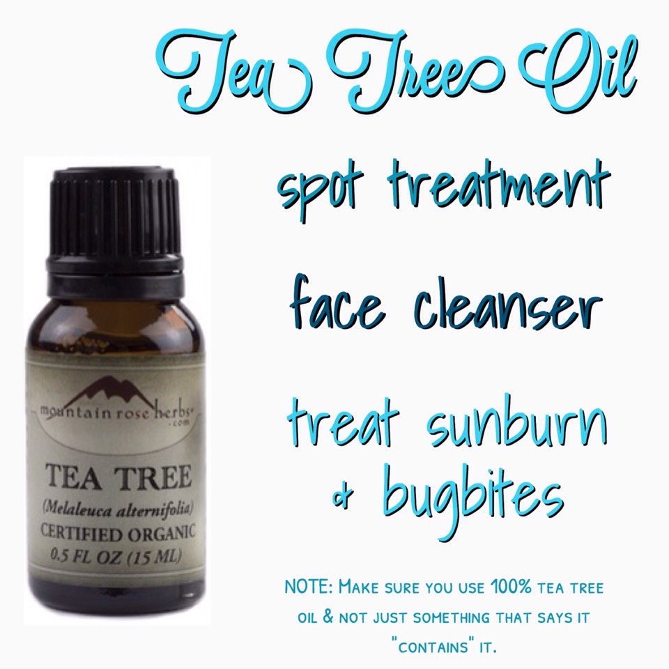 Tea tree oil has tons of uses, but I think it's best used as a spot treatment because it has natural antibacterial & healing properties that can prove to be really helpful when dealing withstubborn blemishes. There are tea-tree-based cleansers, toners, exfoliators, & creams out there–you name it, they make it. But I personally think using all of those products in conjunction might be a bit much. So, I started out using it as just a basic spot treatment.