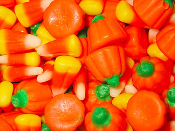 7. Candy corn is covered in insect secretions.