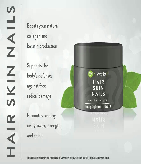 try our hair skin nails. will be amazed at the results !