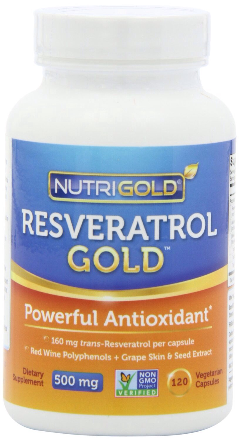 Resveratrol, a compound found in red grapes has been proven to slow the aging process by blocking the damaging effects of the sun. It also boosts heart health and may promote longevity. Take 20mg once daily (recommended).