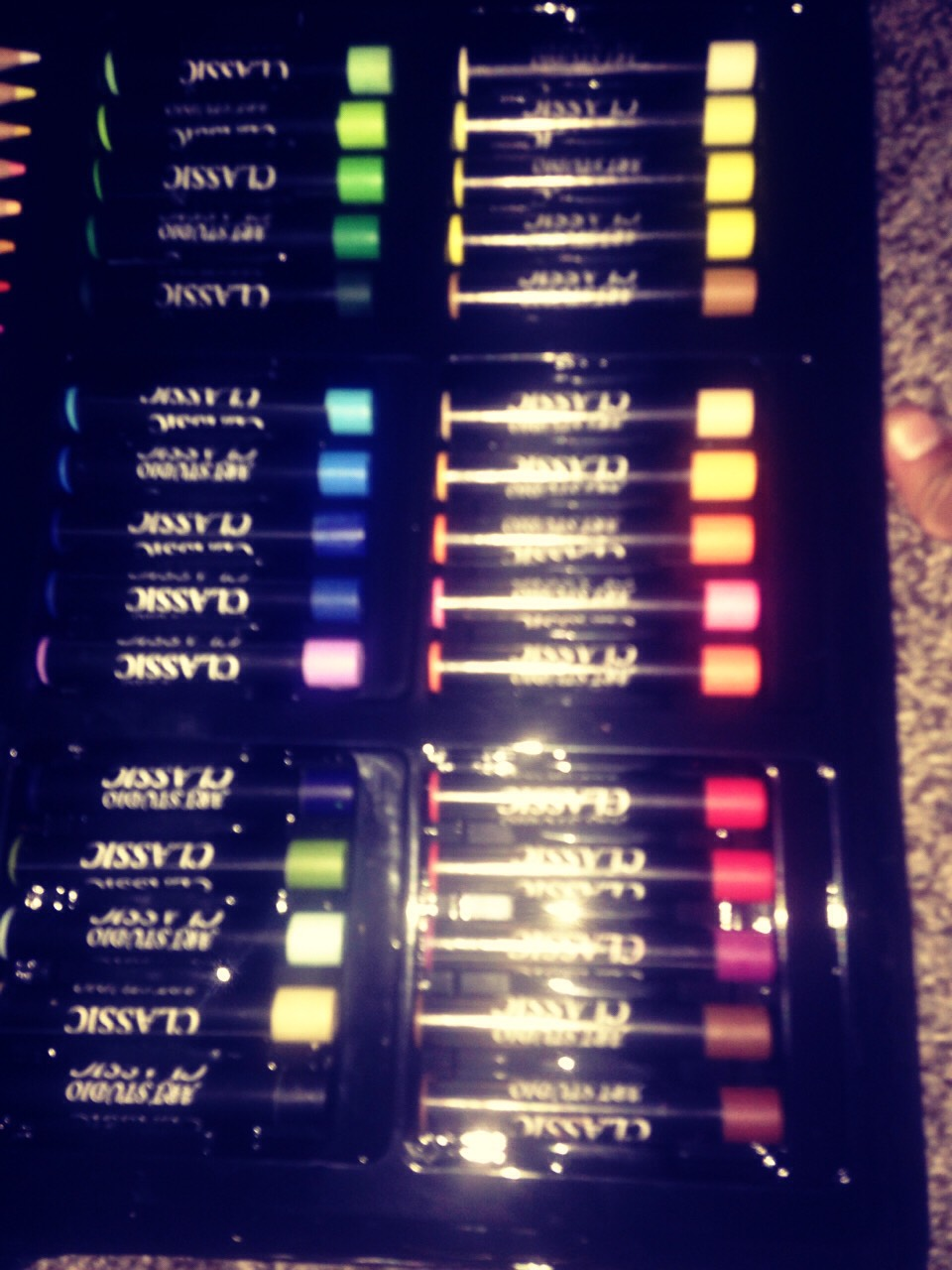 These r oil pastels