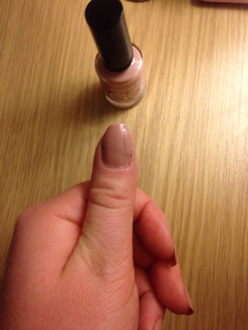 8. Paint the nail a colour of your choice. 9. Wait until dry.  10. Your all done and your nail is fixed. 😃😃🎊