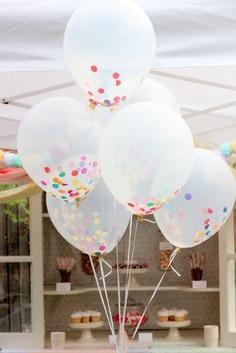 --> Confetti Balloons.