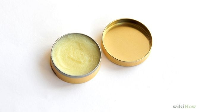 Lip balm. You need the type that goes gloopy when mixed, I used a pink one the first town I did this.