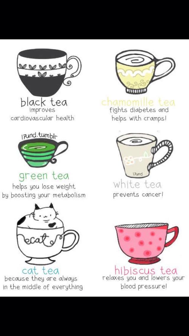 Enjoy tea the benefits are amazing ✅