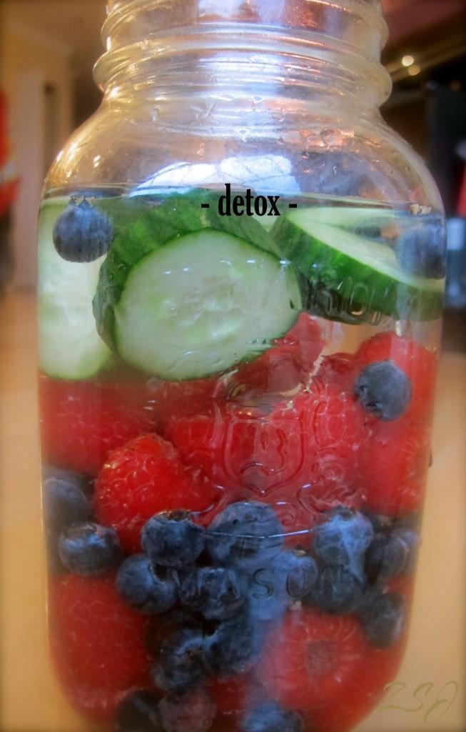 Cucumbers,blueberries,berries