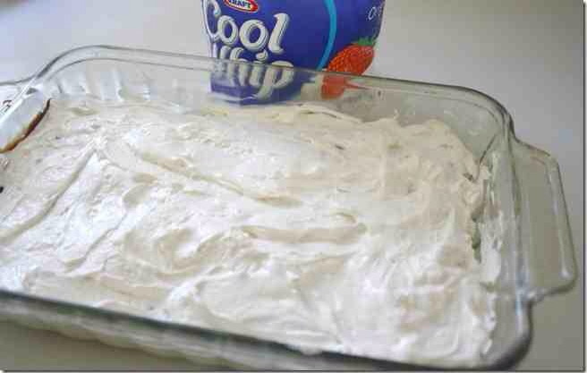 Add a layer of cool whip.