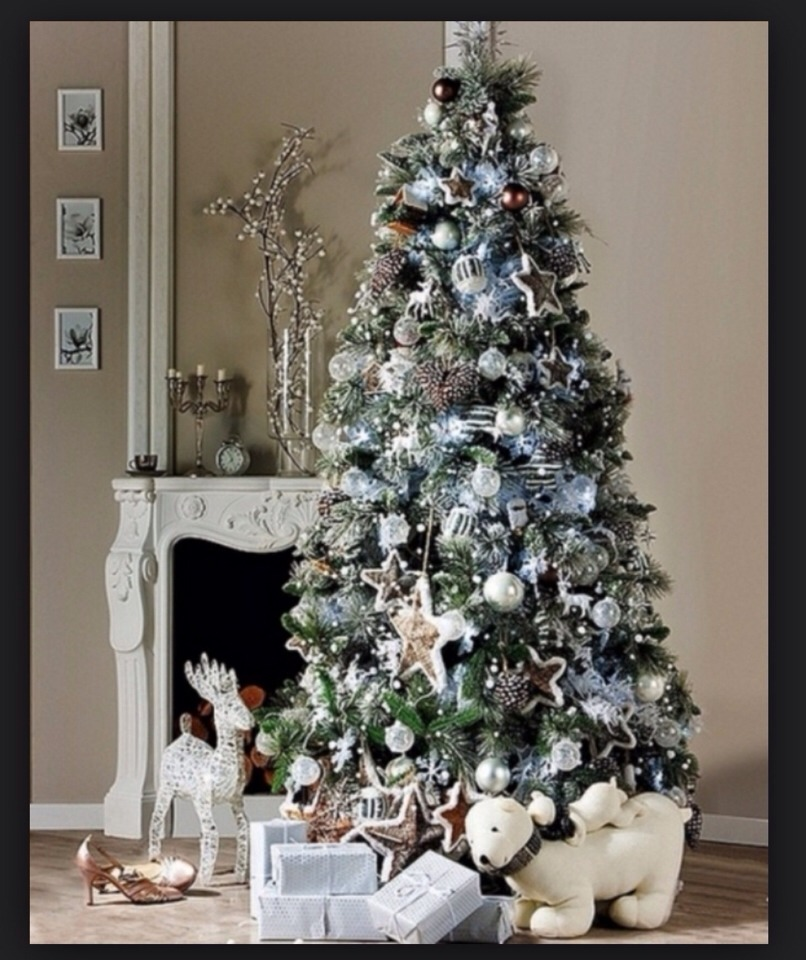 Christmas Tree For 2014: Hottest Christmas Tree Trends 2014-2015 By Anna Van Dyken