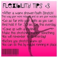 Tips for flexibility! xx