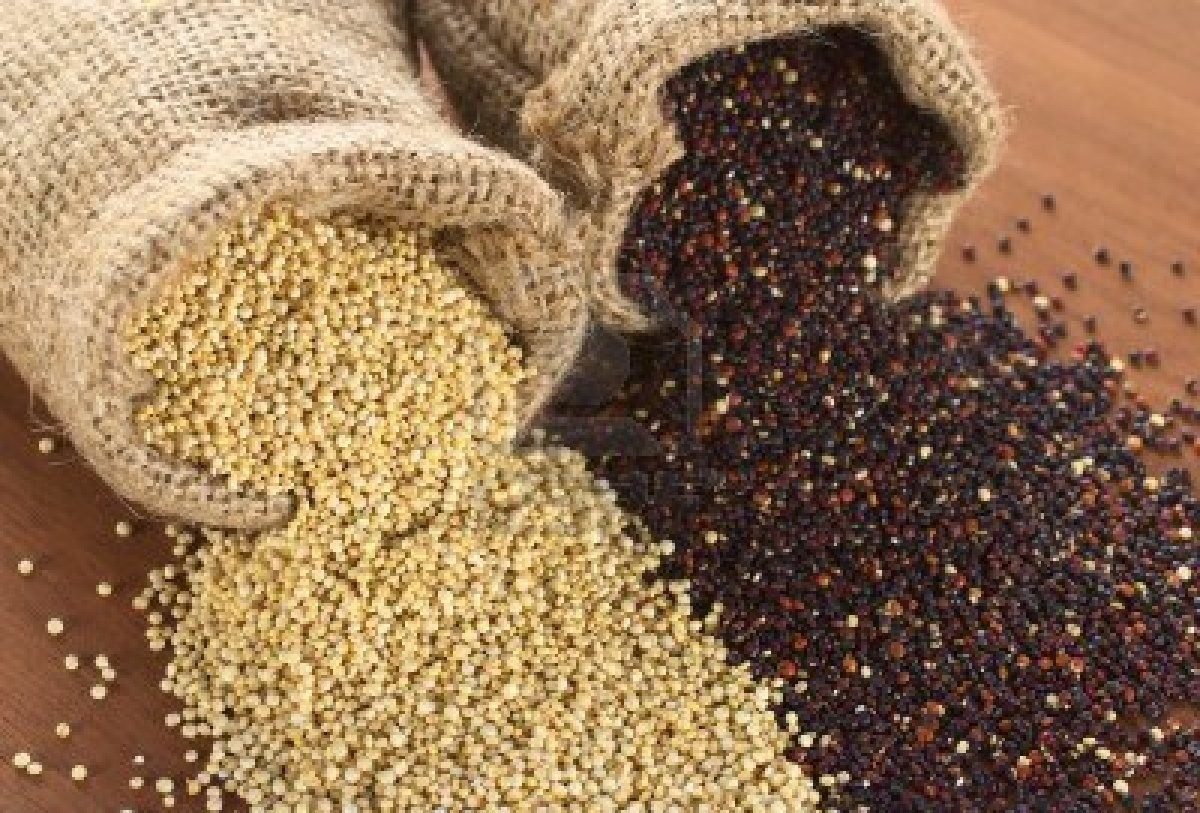 Quinoa can lower cholesterol, high in protein,  good in zinc, and magnesium. Found in a lot of vegetarian and vegan diets. Great supplement to oats.