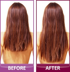 You will see the results after u watch it, u will notice on the shine and softness... the hair growth u will start noticing it in about 3-4 weeks.