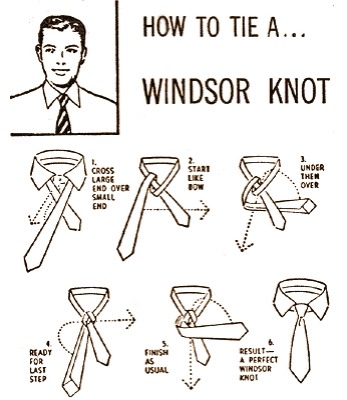 Musely six steps to tie windsor knot ccuart Images