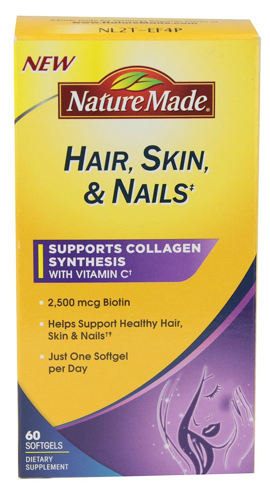 Hair Skin And Nail Vitamins Doesn\'t Have To Be Ingested To Produce ...