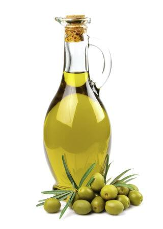 she would often wash her face with olive oil mixed with lime.
