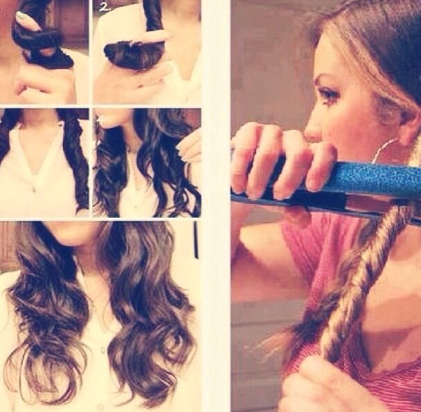 Fast And Easy Way To Curl Your Hair By Daliah Malign Musely