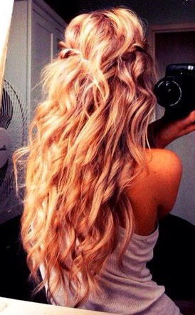 For the girls out there with long hair: I wish I was you🙏🏼