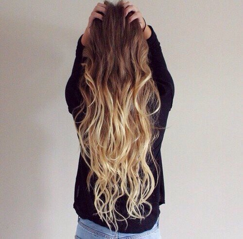 Everyone wants ombre hair but it cost a lot to do it at the hairdresser😢 Here's a solution!