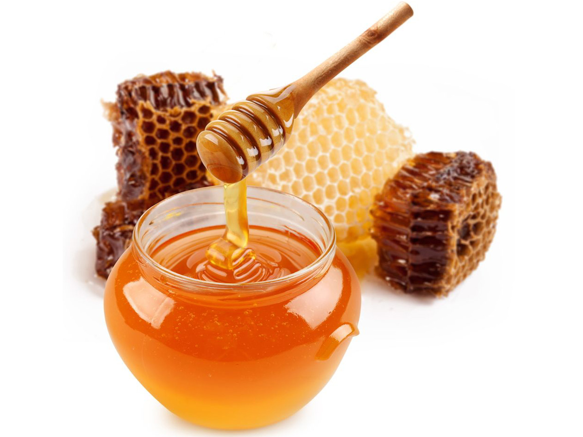 Add 1 tablespoon of honey.