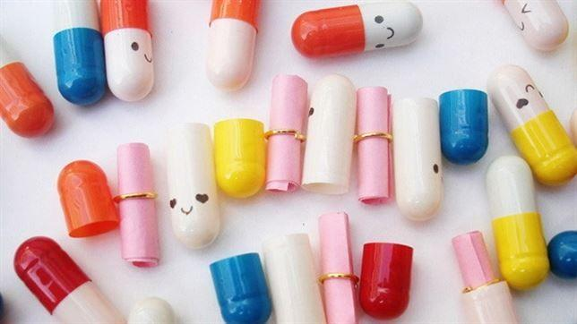 Messages in a Pill (Happy Pills)  Purchasable online