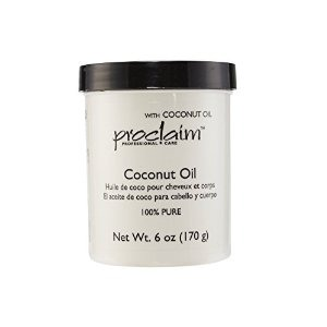 2 tbsp. coconut oil. The rich nutrients and fatty acids in coconut oil help to stimulate hair follicles, promote hair growth, add moisture, and prevent hair loss. In this mixture, it's also a great detangler.