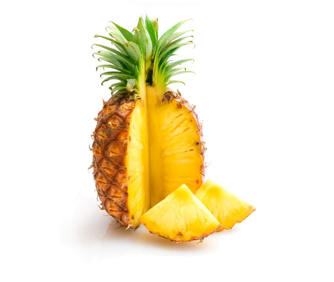 blend together with pineapple juice...