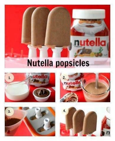 Everyone loves Nutella! But to much is sickly try something new!🍦