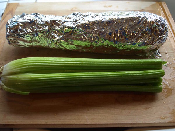 5. Wrap celery or broccoli in foil to keep it fresh for up to a month.