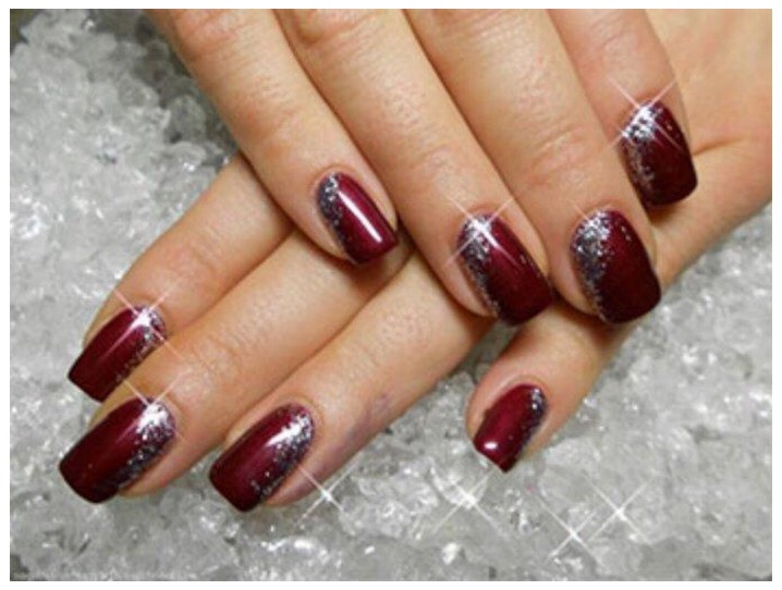 Wine Color Nail Designs 2017 By Rosie G Musely