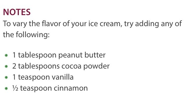 Also try adding in strawberry or chocolate chips once its ready. Super tasty :)
