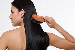 brush through you entire hair!