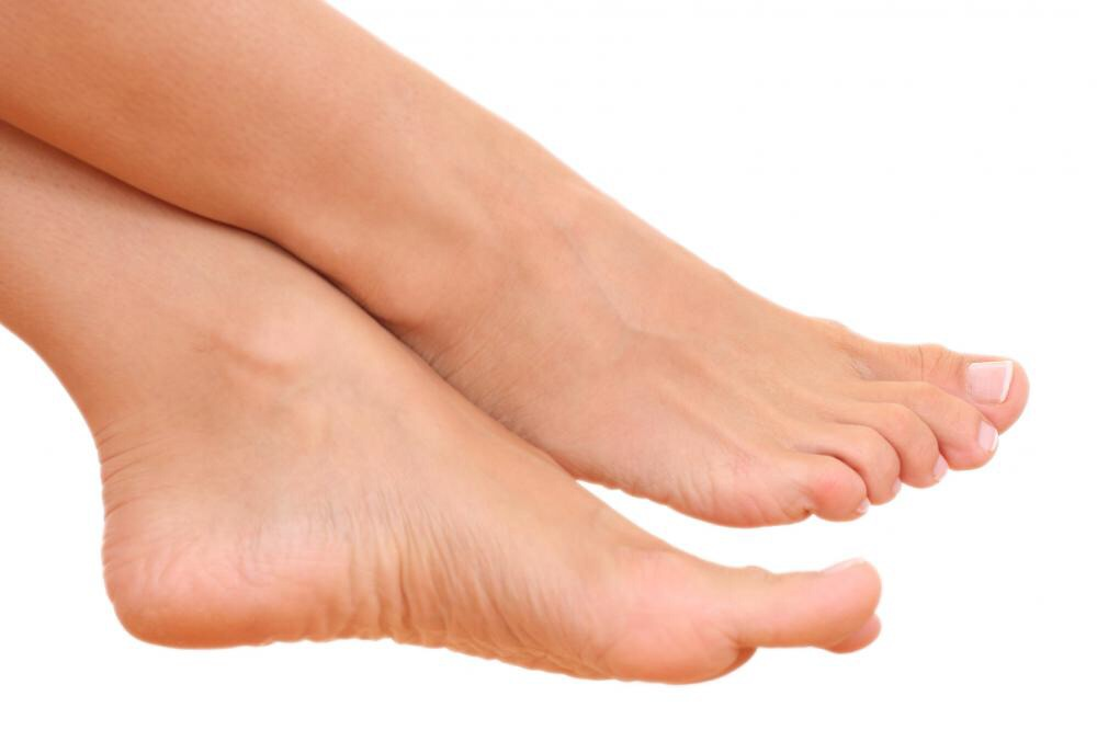 It gives smooth soft feet!