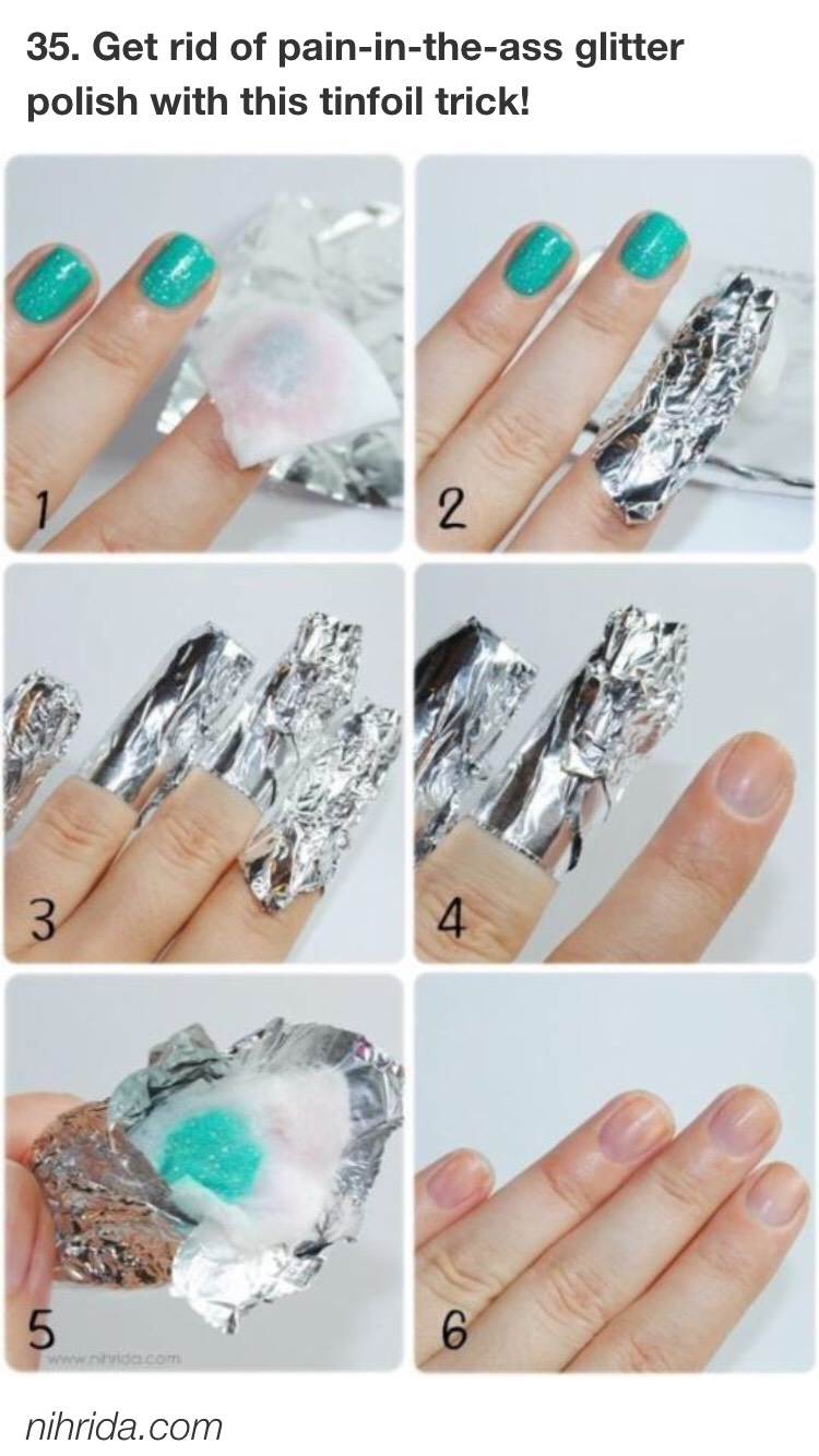 Soak a cotton ball in remover, put it on your nail, wrap the nail in tin foil, and let it chill for 5-10 minutes.  After that wipe it right off!