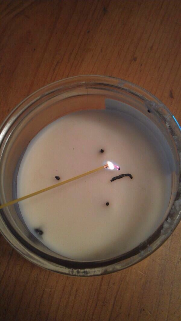 Use a dry strand of spaghetti to light hard-to-reach candles.