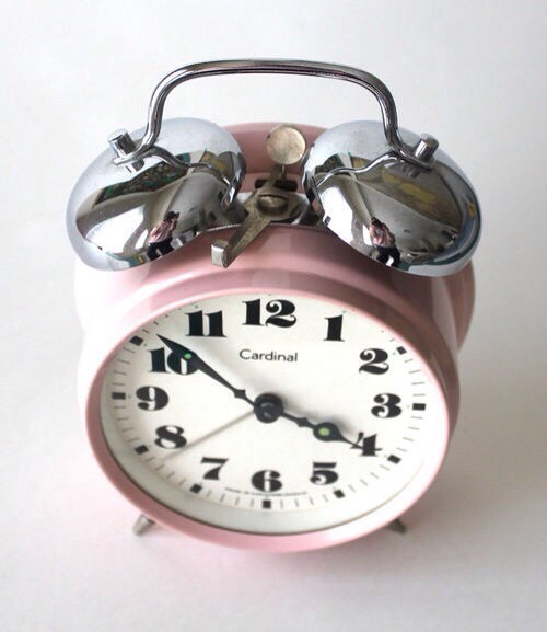If you wake up late or miss your alarm, try setting your alarm 20 or 30 minutes earlier allowing you time to wake up. Another thing you could do is put your alarm at the other end of the room that way you are up and out of bed