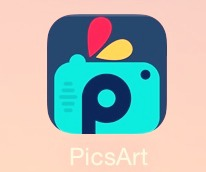 So first download or go to Picsart and click on it!(this is what I use to draw cute things on my pictures)