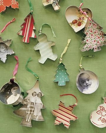 7. Cookie Cutter Ornaments