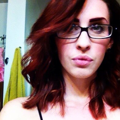 I think I'm gonna try black to red ombré when it comes time for my next color job.