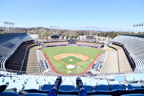 Dodger Stadium Home to baseball's Dodgers since 1962