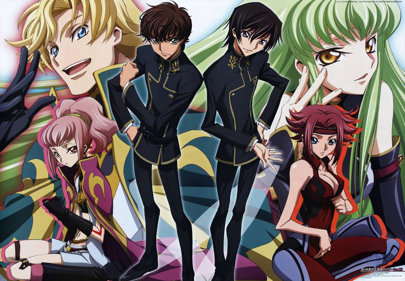 Code Geass  Amazing show. It's a thriller and revolves around a strategic mastermind high schooler  trying to take down one of the world's  greatest empires. Even those who don't usually watch anime should check this out. The plot is captivating