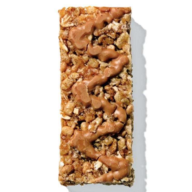 1 NUTTER BUTTER GRANOLA BAR This peanut bar tastes like something you'd get from the vending machine, minus the thigh-inflating effects.