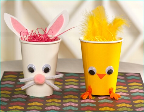 Make some cool Easter crafts/DIYs with your kids! Just be creative...