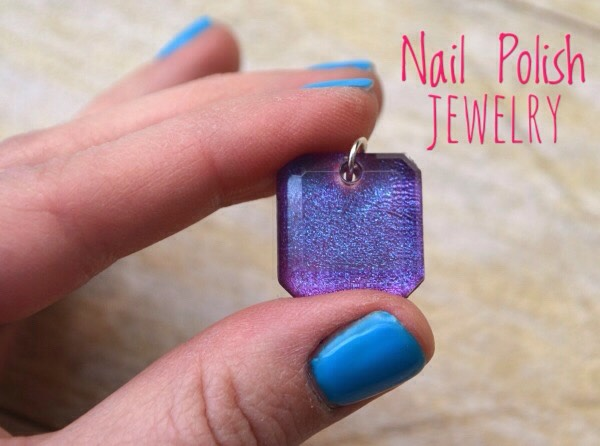 10 | DIY Nail Polish Jewelry   Turn your favorite nail polish shade into a one of a kind pendant!